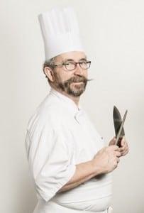 Denis Come donne des cours de cuisine à le mans